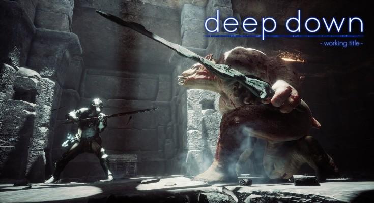 Deep Down - Banner