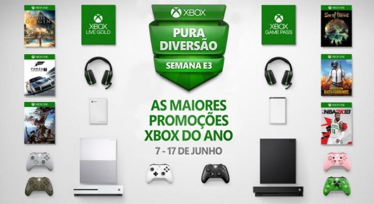 Promoção Xbox