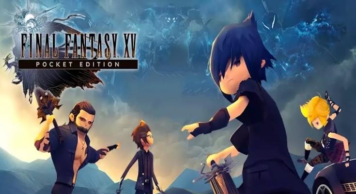 Final Fantasy XV Pocket Edition - Banner