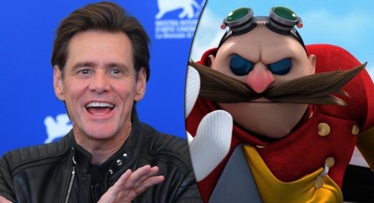 Jim Carrey - Robotnik no Filme do Sonic