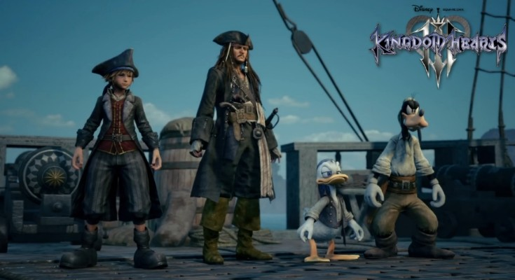 Kingdom Hearts III - E3 2018 - Banner Piratas