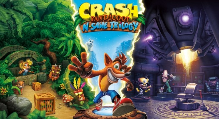 Crash Bandicoot é o jogo mais vendido no Reino Unido