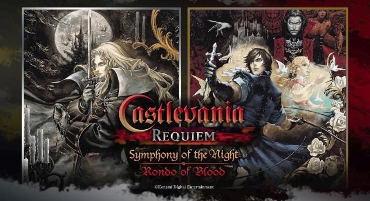 Revelado Castlevania Requiem: Symphony of the Night & Rondo of Blood!