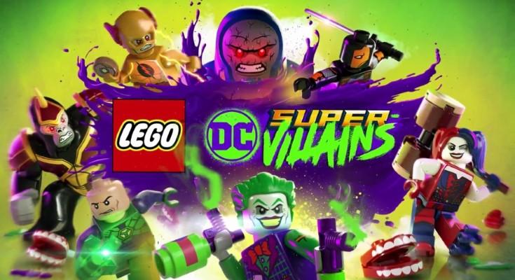 Divulgado trailer de lançamento de LEGO DC Super Vilões!
