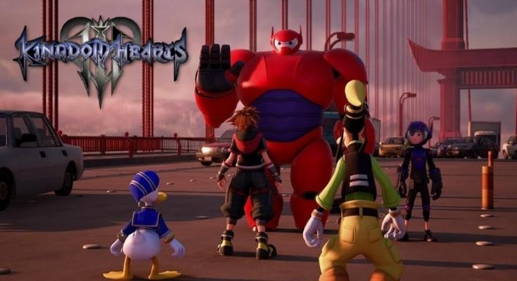 Kingdom Hearts III esta finalmente pronto e tem novo trailer divulgado!