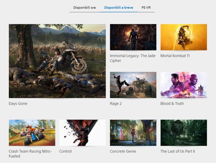Site do PlayStation da Itália, Alemanha, França e Austrália estão listando o jogo como 'Disponível em Breve'.
