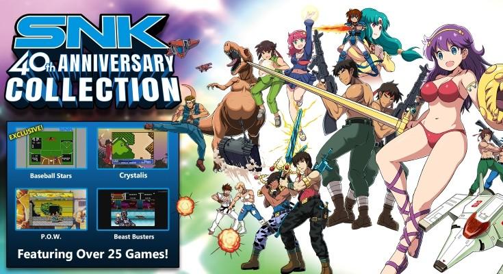 SNK 40th Anniversary Collection é anúnciado para Xbox One!