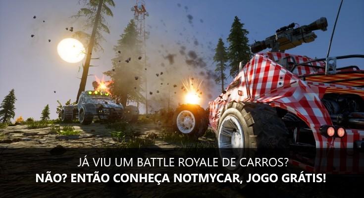 Notmycar é um Battle Royale de carros que acaba de chegar ao Steam!