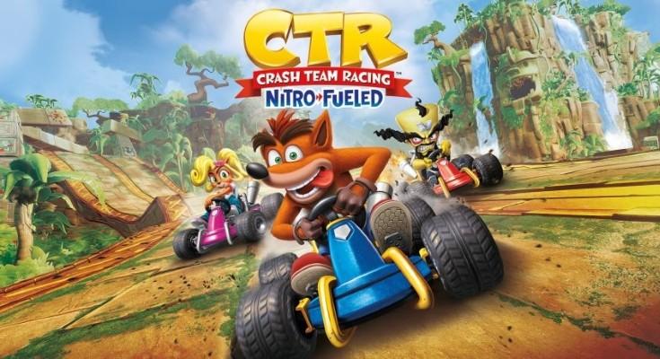 CTR: Nitro-Fueled receberá primeira grande atualização em 3 de julho!