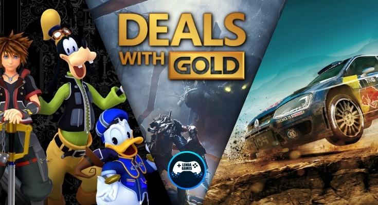 (DwG) Deals with Gold - De 29 de julho até 5 de agosto de 2019!