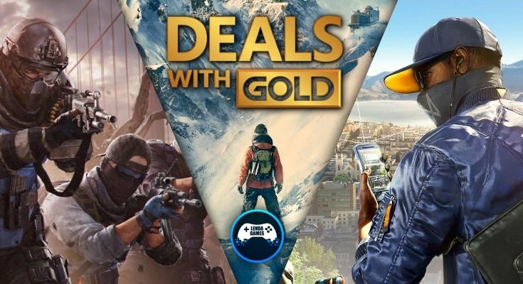 (DwG) Deals with Gold - De 27 de agosto até 2 de setembro de 2019!