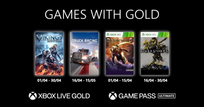 (GwG) Games with Gold: Jogos Grátis - Abril de 2021 na Xbox Live!