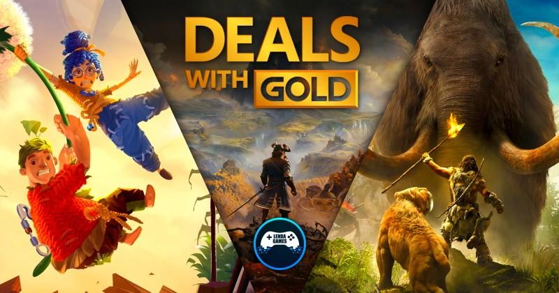 Ofertas Deals with Gold (DwG): Até 2 de agosto de 2021 na Xbox Live!