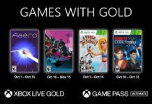 (GwG) Games with Gold: Jogos Grátis - Outubro de 2021 na Xbox Live!