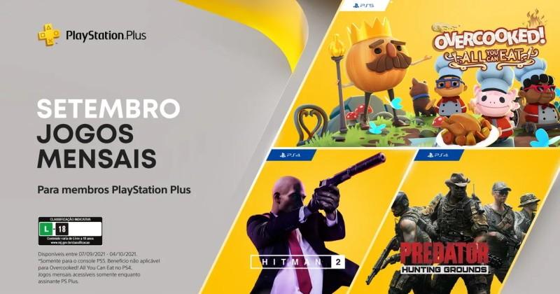 (PS Plus) PlayStation Plus: Jogos grátis em setembro de 2021!
